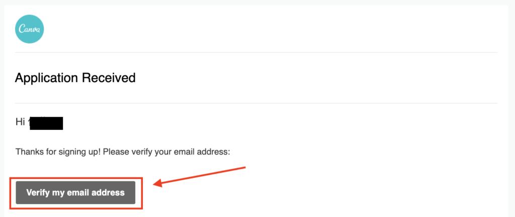 Canva 承認リンクメール